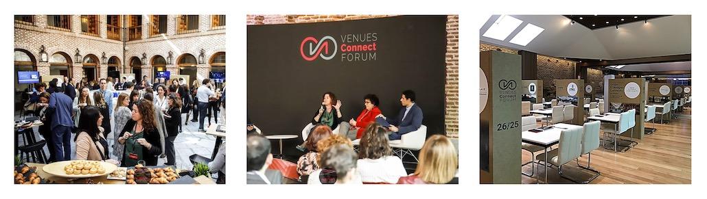 Organización de Eventos Madrid | Venues Connect Forum