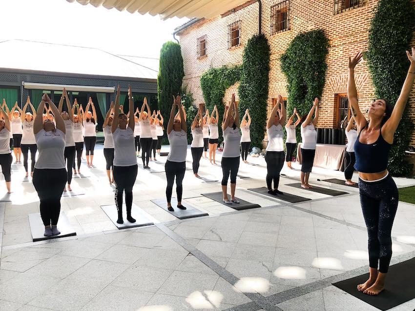 Organiza tus eventos corporativos, de empresa o actividades en Madrid en los espacios para eventos de El Antiguo Convento de Boadilla del Monte.