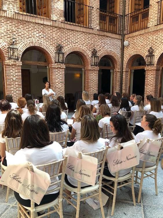 Organización de eventos en Madrid en los espacios de El Antiguo Convento de Boadilla del Monte. Organización de evento Wellness.