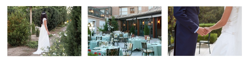 Finca para bodas en Madrid en la Hostería del Convento, grupo El Antiguo Convento
