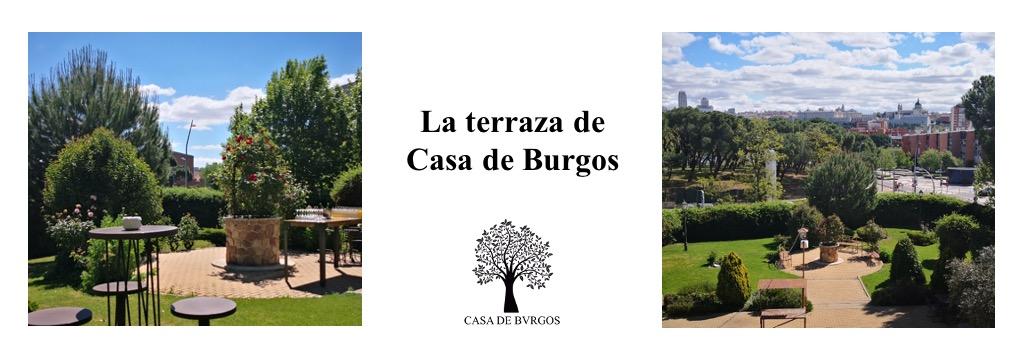 Terraza para afterwork o cena en Madrid en Casa de Burgos, la nueva propuesta de Grupo El Antiguo Convento.