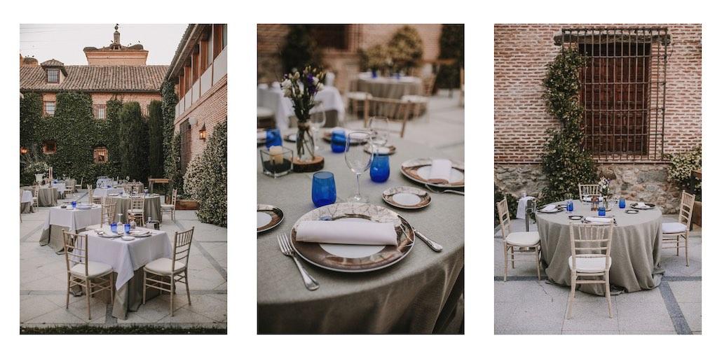 Restaurante con terraza en Boadilla del Monte en los espacios para bodas y eventos en Madrid de El Antiguo Convento