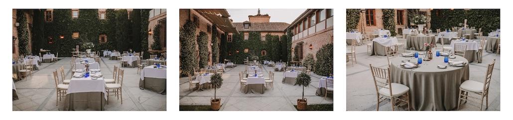 Restaurante con terraza en Boadilla del Monte en los espacios para eventos en Madrid de El Antiguo Convento