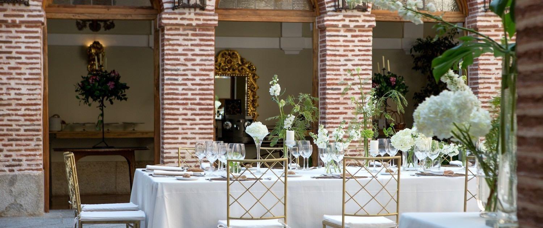 Espacio y finca para bodas y eventos en Madrid con El Antiguo Convento
