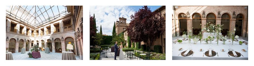 Finca para bodas en Madrid. Descubre cómo preparamos tu boda en loes espacios para bodas de El Antiguo Convento de Boadilla del Monte