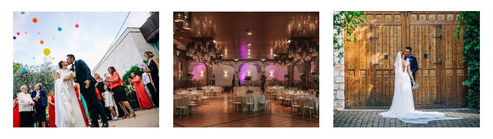 Finca para bodas en Madrid con el exclusivo espacio para bodas de Casa de Burgos.