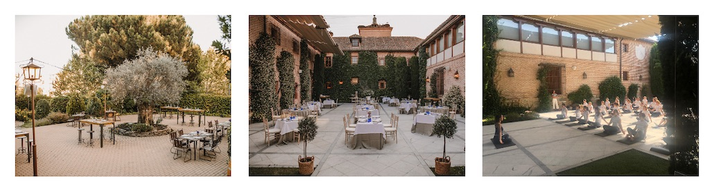 Finca y espacio para eventos en Madrid con El Antiguo Convento de Boadilla del Monte, espacio exclusivo para eventos corporativos y de empresa en Madrid.