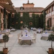 Finca y espacio para eventos en Madrid. Eventos de empresa y corporativos en Madrid en El Antiguo Convento de Boadilla del Monte.