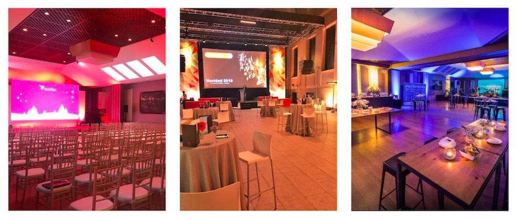 Espacio para eventos en Madrid con cocina propia. Organización de eventos de empresa y corporativos en Madrid.
