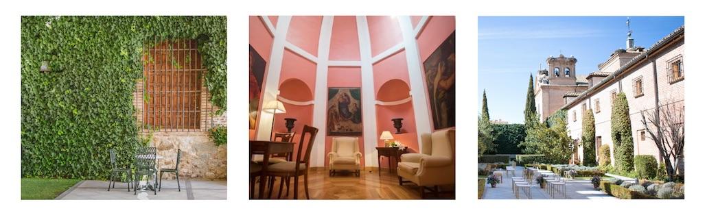 Hotel Boadilla del Monte en la finca para bodas y eventos en Madrid de El Antiguo Convento de Boadilla del Monte.