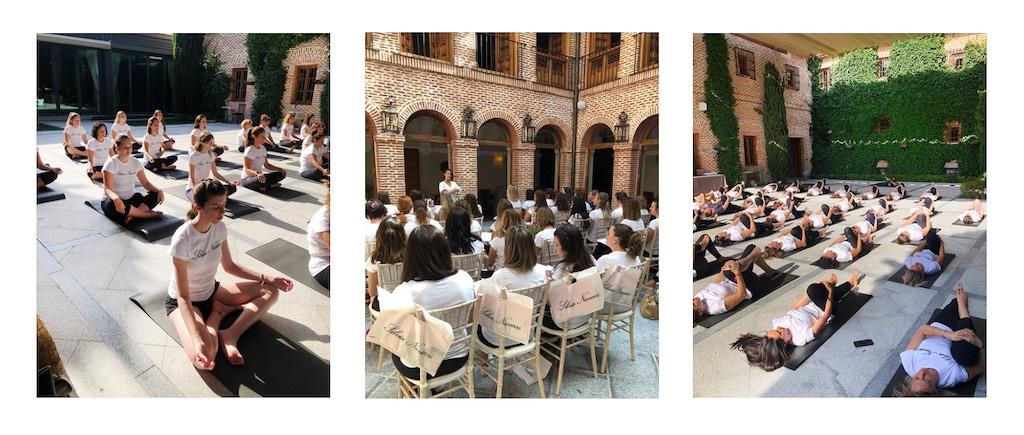 Espacio para organización de eventos wellness en Madrid con las fincas para eventos en Madrid de El Antiguo Convento.