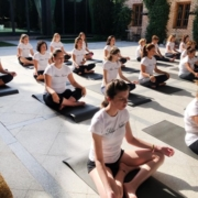 Espacio para eventos wellness en Madrid con las fincas para eventos en Madrid de El Antiguo Convento.
