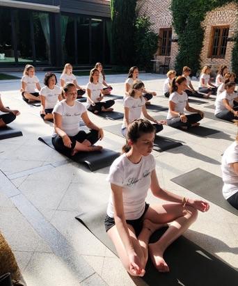 Espacio para eventos wellness en Madrid con las fincas para eventos en Madrid de El Antiguo Convento.