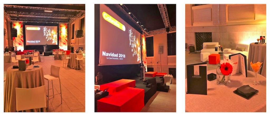 Finca y espacio para eventos en Madrid para la organización de eventos de empresa en Navidad.