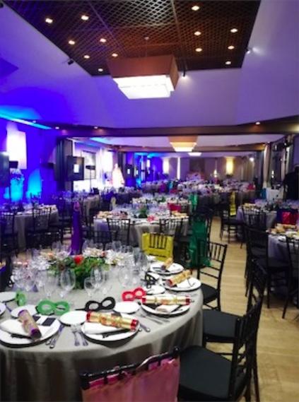 Organización de eventos de empresa de Navidad en Madrid en los espacios y fincas para eventos de El Antiguo Convento.